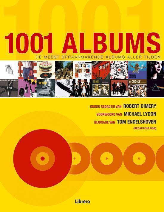 Cover van het boek '1001 Albums' van Robert Dimery