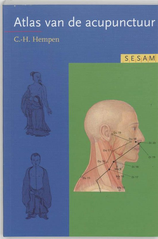 Boek cover Sesam atlas van de acupunctuur van C.H. Hempen (Paperback)