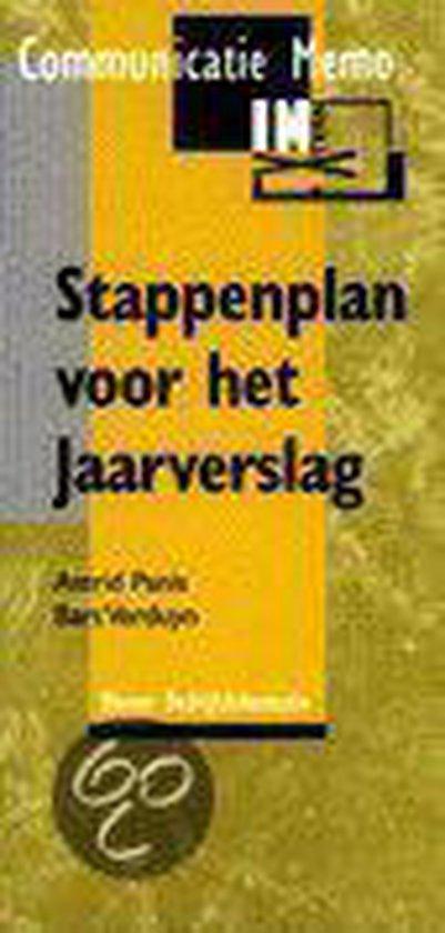 Stappenplan voor het jaarverslag (Communicatie Memo) - A./ Verduyn, B. Panis  