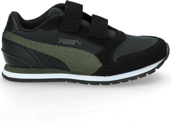 bol.com | Puma ST Runner kinder sneakers - Zwart - Maat 33