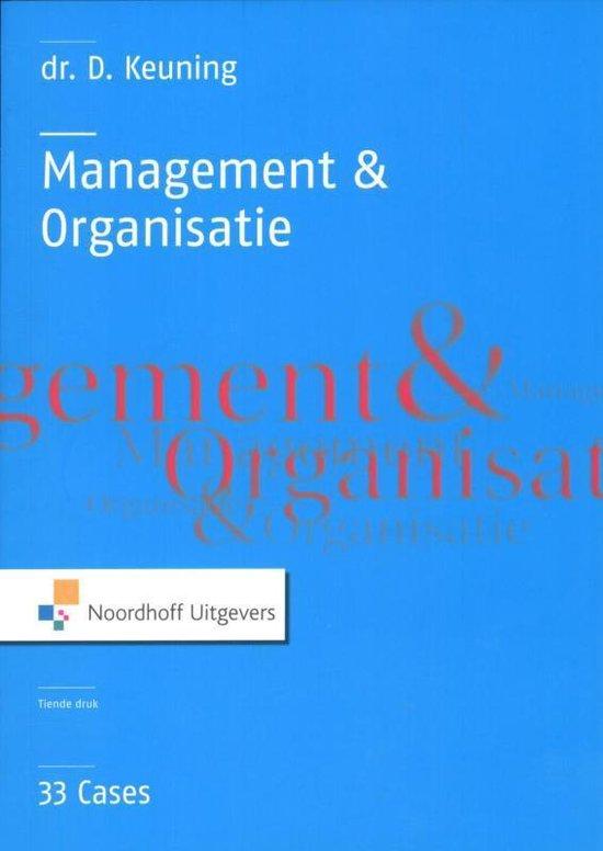 Management & organisatie - D. Keuning |