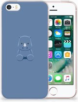 iPhone SE | 5S Uniek TPU Hoesje Baby Rhino