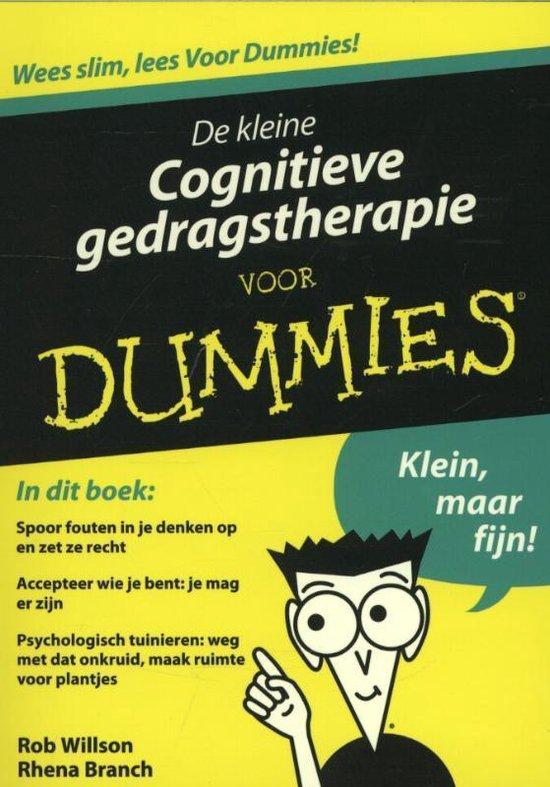 Afbeelding van Voor Dummies - De kleine cognitieve gedragstherapie voor Dummies