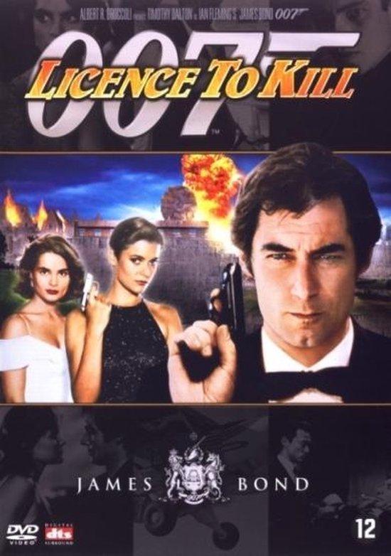 Cover van de film 'License To Kill'