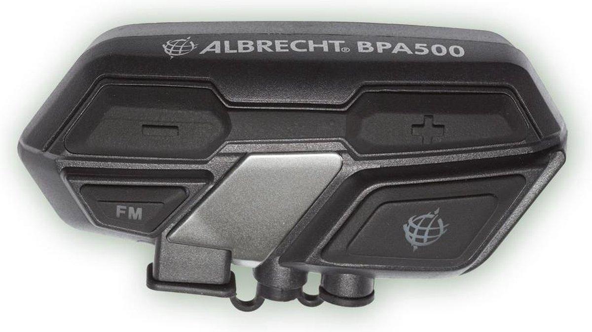 Albrecht BPA 500 15530 Bluetooth headset met microfoon Geschikt voor (helm) Universeel