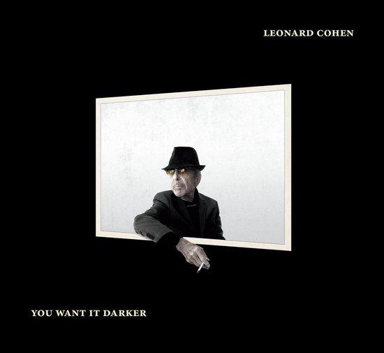 CD cover van You Want It Darker van Cohen, Leonard
