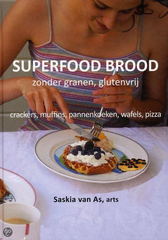 Superfood brood - Saskia van As |