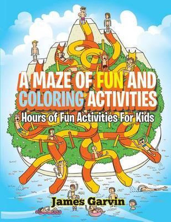 A Maze of Fun and Coloring Activities