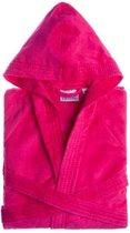 Jorzolino Kinderbadjas met Capuchon - Roze 4 Jaar