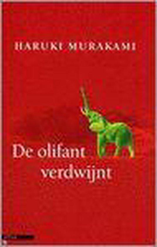 De Olifant Verdwijnt - Haruki Murakami |