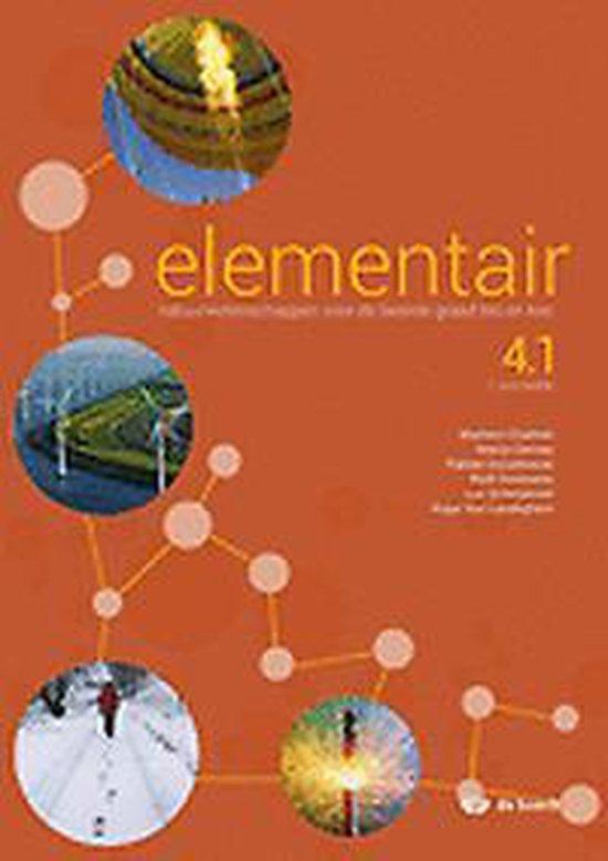 Afbeelding van Elementair 4.1 - leerwerkboek