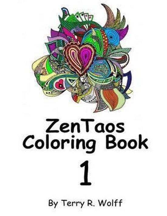 Zentaos Adult Coloring Book, Volume 1
