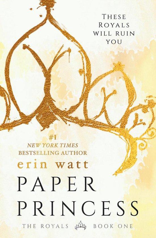 Boek cover Paper Princess van Erin Watt (Onbekend)