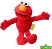 Sesamstraat Pluche Elmo 25cm|de Originele Knuffel
