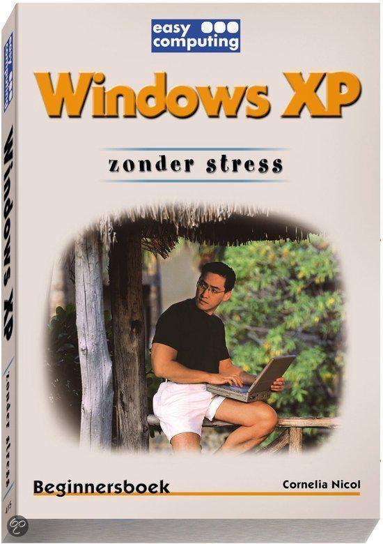 Cover van het boek 'Windows XP zonder stress'