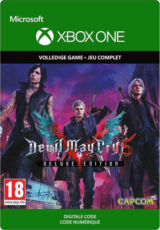 Devil May Cry 5: Digital Deluxe Edition - Xbox One Download
