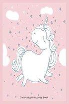 Girls Unicorn Activity Book