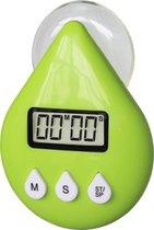 EcoSavers ShowerTimer Eco LCD Douche Timer | hulpmiddel om korter te douchen | Douchetimer | kleur: groen
