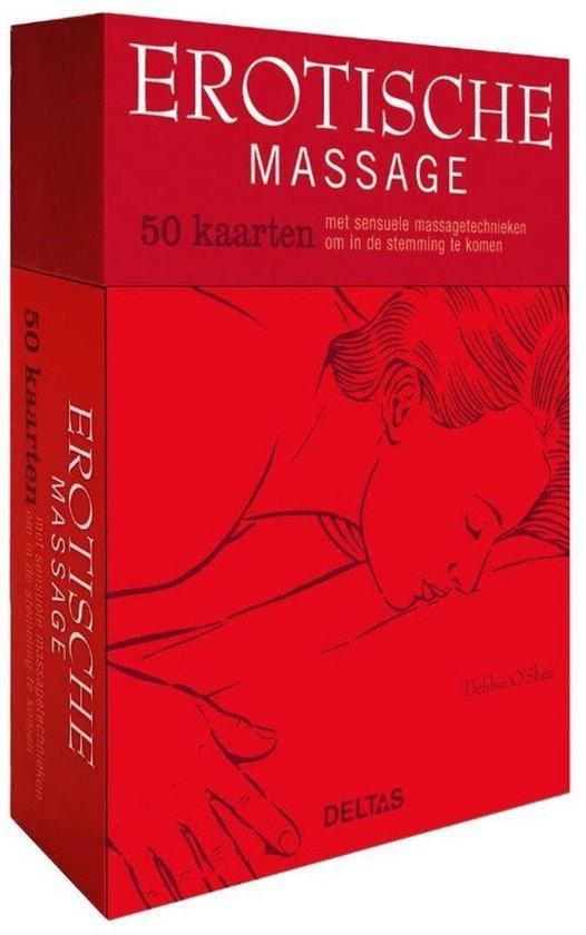 Boek cover Erotische massage - 50 kaarten van Debbie OShea (Onbekend)
