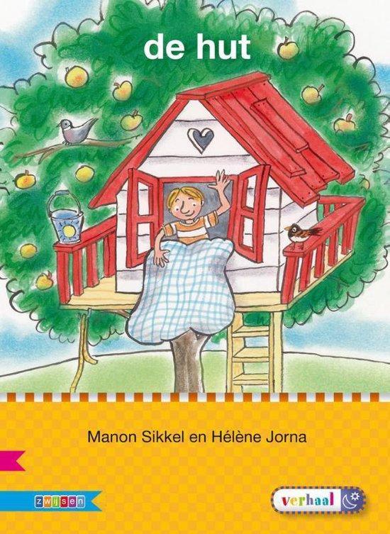 Boek cover Veilig leren lezen  -  De hut AVI M3 van Manon Sikkel (Hardcover)