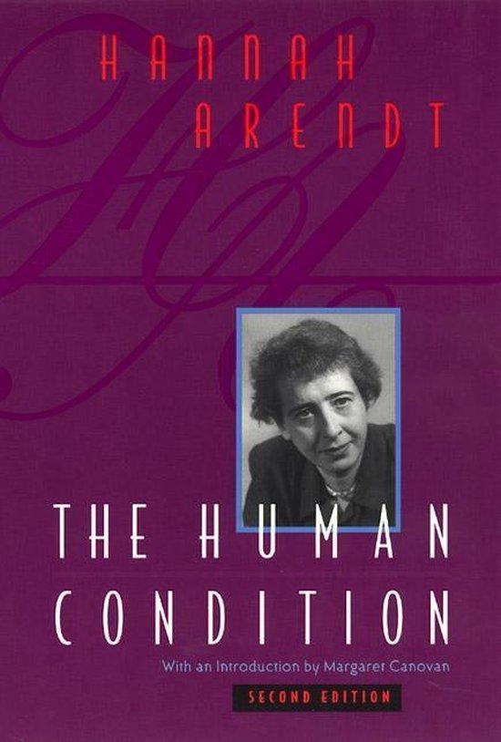 Boek cover The Human Condition van Hannah Arendt