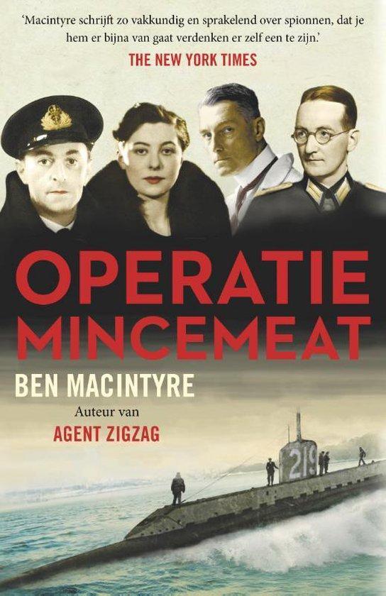 Boek cover Operatie Mincemeat van Ben Macintyre (Paperback)