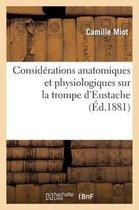 Considerations Anatomiques Et Physiologiques Sur La Trompe d'Eustache