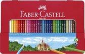 Faber-Castell Kleurpotloden in blik - 36 stuks