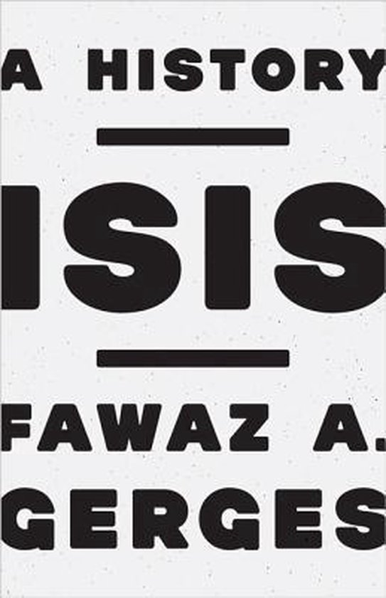 Boek cover ISIS van Fawaz A. Gerges (Hardcover)
