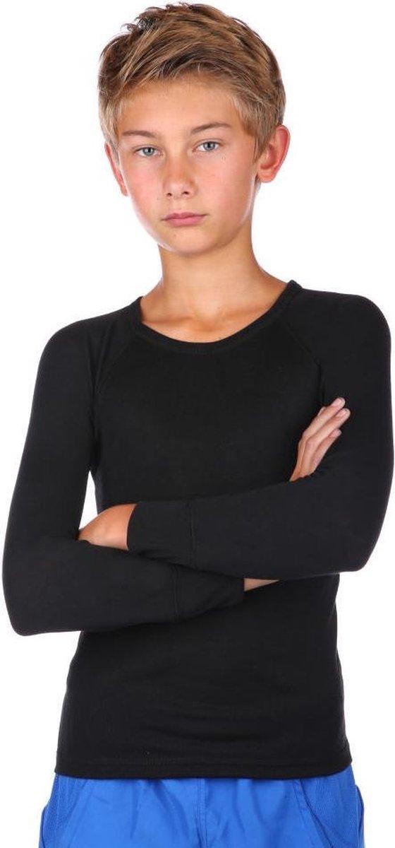 THERMO4SPORTS thermokleding - Thermoshirt zwart