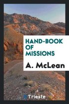 Hand-Book of Missions