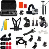 39 in 1 Gopro Accessories Kit voor GoPro Hero 4/3+/3/2/1 en Actioncam
