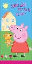 Peppa Pig Sunny - Strandlaken - 70 x 140 cm - Multi