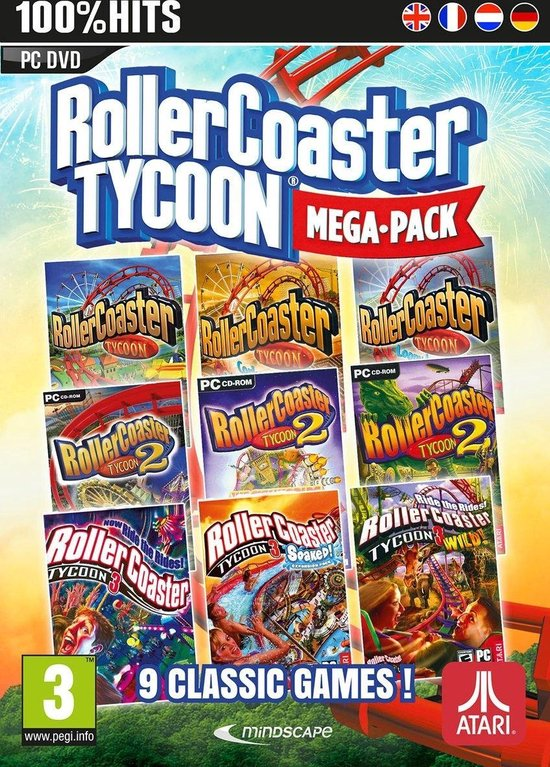 RollerCoaster Tycoon Mega Pack - Windows download
