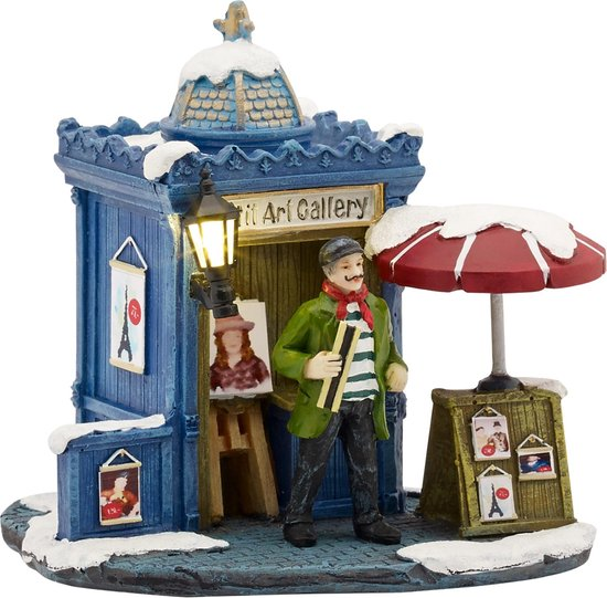 Luville - Petit art gallery battery operated uit de 2016 Collectie