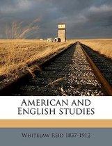 American and English Studies