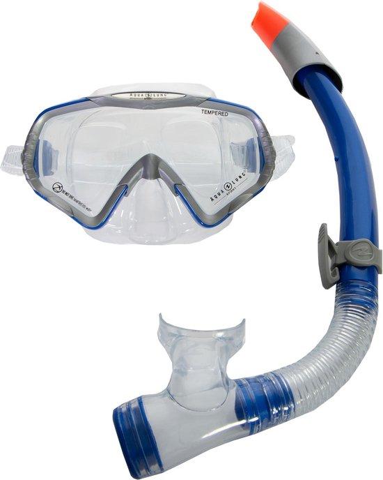 Aqua Lung Sport Starbuck + Sonora - Snorkelset - Volwassenen - Blauw/Zilver - Aqua Lung Sport