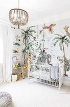 Behang - Foto behang - Jungle Tonal 330cm breed x 260cm hoog