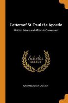 Letters of St. Paul the Apostle