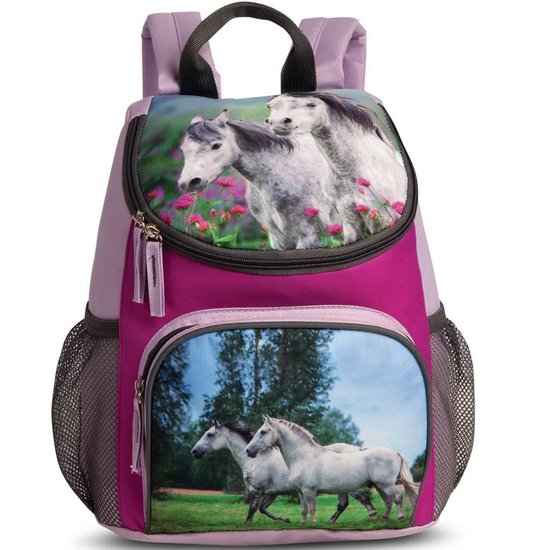 Animal Pictures Paard Rugzak - 30 cm - Lila