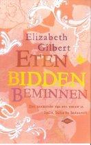 Boek cover Eten, bidden, beminnen van Elizabeth Gilbert (Onbekend)