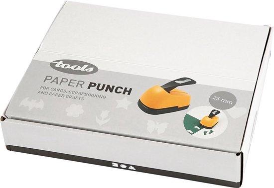 Papier ponsen, afm 25 mm, elke dag, 12 assorti
