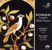 Pandolfi: Complete Violin Sonatas / Manze, Egarr