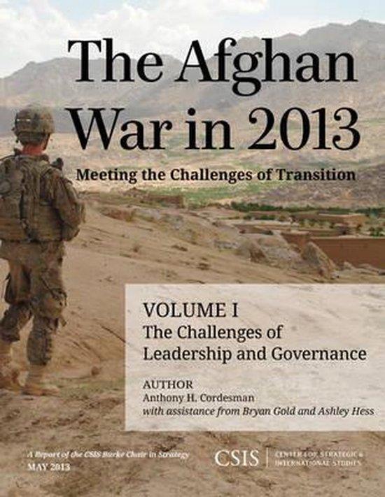 Boek cover The Afghan War in 2013 van Anthony H. Cordesman (Paperback)