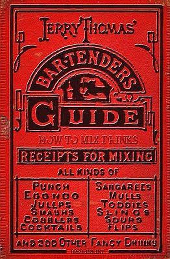 Boek cover Jerry Thomas Bartenders Guide van Ross Brown (Paperback)