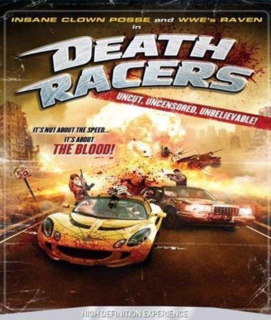 Cover van de film 'Death Racers'
