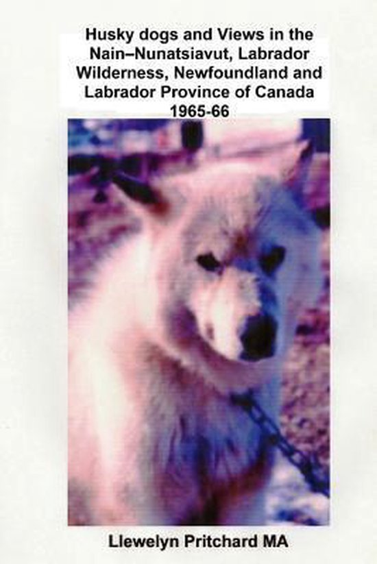 Husky Dogs and Views in the Nain-Nunatsiavut, Labrador Wilderness, Newfoundland and Labrador Province of Canada 1965-66
