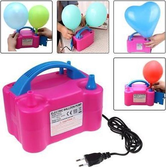 Elektrische Ballonnenpomp - 600W - Geen batterijen nodig