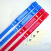 SOS Combiset 4x Firsty SOS Armbandjes Kind rood/blauw, herbruikbaar, zonder weekmakers, Gratis verzonden elke DI en VR (besteld vóór 13.30 uur)