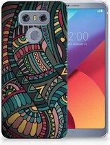 LG G6 TPU Hoesje Design Aztec